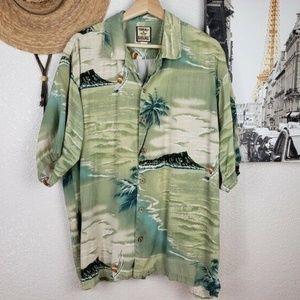 Tommy Bahama Men's Diamond Head Hawaii Silk Shirt